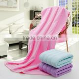 100% cotton thicken bath towel for factory price