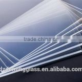 3-25mm low iron Ultra Clear Float Glass price for buildings
