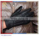 2016 Hebei ZF factory Hot fashion noble sexy customized deer thin leather gloves for men