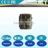 5/8/12 megapixel digital ccd 720P HD hunting trail camera ir night vision password protection Long time standby
