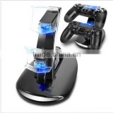 LED Dual USB Charge Dock Docking Cradle Station Stand for Sony Playstation 4 PS4 Game Controller