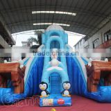 bear polar triple slide giant inflatable dry slide for kids                                                                                                         Supplier's Choice