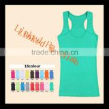 wholesale sexy women U vest gym tank top U front and X back cotton plain tank top                                                                         Quality Choice