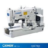 OEM-782K High speed straight button holing industrial sewing machine(in various knit fabric clothing)