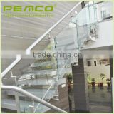 Hot selling high quality factory custom terrace stainless steel glass cheap balustrade