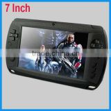 "video games 7"" touch screen,five-Point Capacitance Touch,800*480 Aandroid 4.1 tablet game console"
