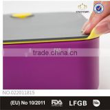 Airtight Lunch Box with Dividers, Food Grade, FDA Approved, BPA Free , Eco-friendly Material by Cn Crown