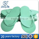 custom eva foam toe separator slipper,disposable spa slipper