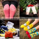 socks women cotton socks original cartoon tube socks fastness of cotton breathable ship socks bulk wholesale socks