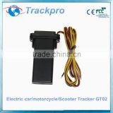 Mini Realtime Car vehicle GSM/GPRS/GPS Tracker Tracking shock alarm Device electric cars