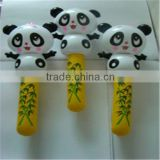 PVC inflatable small toys air panda various type designed for Kids