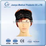 Beauty Nonwoven hair band, disposable PP headband, BLACK and white elastic band for hair