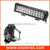 China factory supply car accessories 2016 72w dual row off road light bar 12v waterproof OEM available