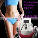 Body Shaping 2014 New Product China Supplier Full Fat Melting Featured Laser Cryolipolysis Vacuum Roller Massage Beauty Slimming Machine
