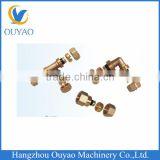 High Precision Yellow Brass Compression Fittings with Competitive Price and High Performance of Forging