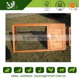 Wholesale keep out the cold firm large wooden double plastic rabbit hutch