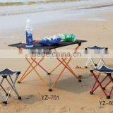 compact fishing table and fishing chair