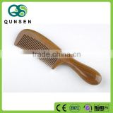 promotional high quality green sandalwood comb