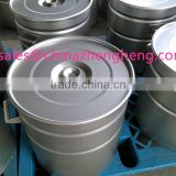 316L stainless steel drum with shot blasting