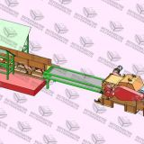 Traditional Wood Chipper Machine
