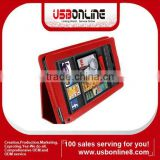 Leather Case Cover For Amazon Kindle Fire 7' Tablet
