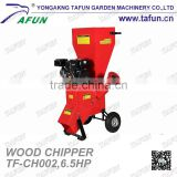 6.5HP professional garden shredder mulcher