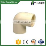 CPVC pipe fitting ASTM D2846 90 degree elbows for water supply