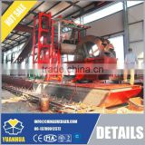 Iron sand ore screening dredger ship land use