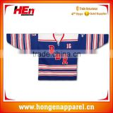 Hongen apparel latest custom camo ice hockey jersey sublimation hockey wear with excellent quality