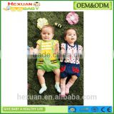 new design short sleeve funny baby clothes romper Infant Jumpsuits New Born Clothing Summer Baby Gift