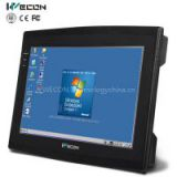 Wecon 10.2 inch advanced industrial touch screen panel pc linux,wince or android system support