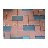 High Pressed Laying Clay Paving Brick Light Weigh Walkway For Outside Road