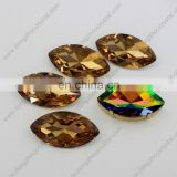 Point back horse eyes crystal stone for dress from zhejiang