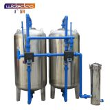 Direct selling rural groundwater well water automatic softening tank purification and clarification softening scale soda filter tank
