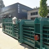 160 tons of semi-automatic hydraulic baler paper baler hydraulic baler horizontal hydraulic baler