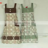 Wholesale Hot Selling Colorful Kitchen Cooking Apron