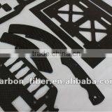 carbon fiber sheet cnc cutting plate for Quadro, Y6, Hexa, Hexa (coaxial), Octo or Octo (coaxial) frame- not for a Okto2 frame