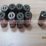 Suit for glass bottle screw cap glass wine bottle black cap 60mm