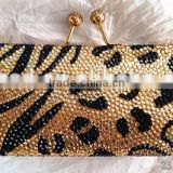 2014 hot sale diamante evening bag luxury artificial stone clutch bag from China supplier