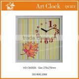 modern style handcraft art frame clock HD-CM3026