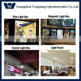 elevator wall light box decorative lumisheet led lighting panel/frameless led light panel
