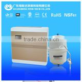 reverse osmosis drinking water filter treatment system plant 3.2G water worker/tank + three 3 faucet ceramics goode-neck