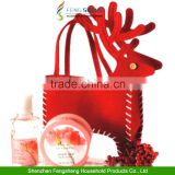 Christmas Candy Bag Santa Reindeer Deer XMAS Present Gifts Filler Holder By Hand