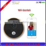 Forrinx smart home APP control wifi hidden camera doorbell, smart phone control doorbell