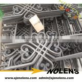 Decorative Wrought Iron Rosettse/ Wrought Iron Panels For Windows & Gates & Fence