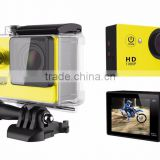 Sports Camera A9 1080P Full HD 2.0 inch Extreme DV Action Camera Diving 30M with Waterproof Case Mini