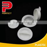 Bathroom and kitchen plastic sink strainer