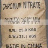 98% Chromium Nitrate nonahydrate ( CAS No: 7789-02-8 )