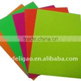 Colored Corrugated Fluorescent Paper Board Use for Gift Wrapping Handcraft Decoration Construction