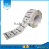 Factory price blank 100mm*100mm Thermal Adhesive Barcode label Sticker